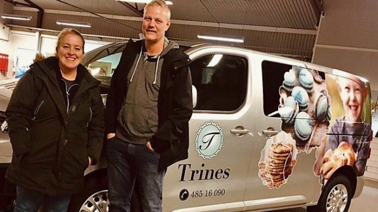 Citroen Jumpy Proff  – et supert valg for Trines Go'Kaker