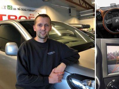 Knalltilbud – Integrert ryggekamera – Citroën